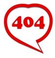 red 404 error
