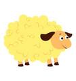 sheep icon cartoon style vector image vector image
