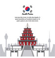 South korea infographic