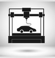 3d modeling automobile industry vector image