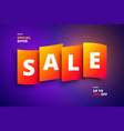 colorful for promotions sales vector image vector image