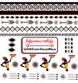 ethnic tribal elements pack with african borders