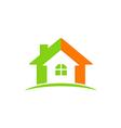 house construction icon abstract logo vector image vector image