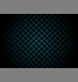 abstract black square pattern on light blue vector image vector image