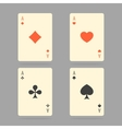 Aces Playing Cards Set of ace playing