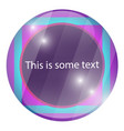 creative color template for text vector image vector image