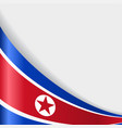 north korean flag background