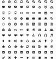 set universal icons 4 vector image vector image