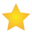 single star icon vector image