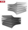 Technical of a multilayer material vector image vector image