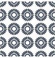 technology gear machine process design vector image