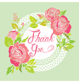 thank you rose 380 vector image