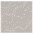 white jewellery endless texture pattern vector image