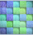 abstract background stone squares vector image vector image