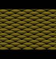 abstract luxury golden wavy design pattern on vector image