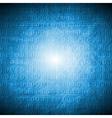 Bright blue hi-tech grunge background vector image vector image