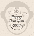 Chinese New Year of the Monkey Poster vector image vector image