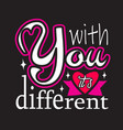 couple quotes and slogan good for t-shirt vector image
