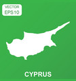 cyprus map icon business concept cyprus pictogram vector image vector image