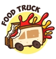 Food Truck Bread Jam vector image
