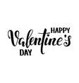 happy valentine s day hand drawn creative vector image vector image