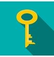 Key icon flat style vector image
