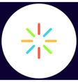 loading computer symbol vector image