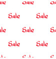 pattern with words special offer sale vector image