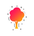 tree sign icon forest symbol vector image