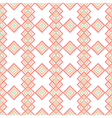 Abstract rhombs seamless pattern on white vector image vector image
