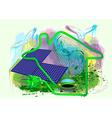 alternative energy vector image
