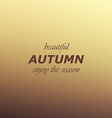 Autumn colors abstract background vector image