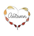 autumn hand lettering