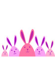 easter holiday greeting card decoration banner vector image vector image