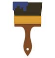 paint brush icon paintbrush tool vector image