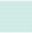 seamless geometric chevron background pattern mint vector image