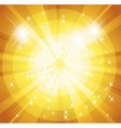 Star burst and sunbeam background vector image vector image