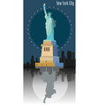 statue freedom image vector image