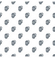 winter glove pattern seamless vector image vector image
