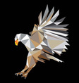 Eagle Polygonal Art vector image