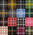garment pattern vector image vector image