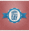Happy Friendship Day Holiday Banner vector image vector image