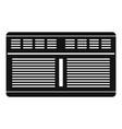 supermarket conditioner icon simple style vector image vector image