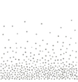 Abstract pattern of random silver dots
