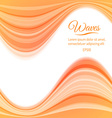 Abstract Light Waves Background vector image vector image