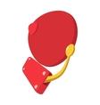 alarm retro bell cartoon icon