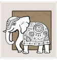 Elephant Indian style Decorative vector image vector image