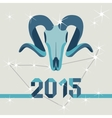 New year mascot goat vector image vector image