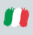 vintage italian flag drawing flag of italy vector image vector image