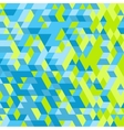 Abstract 3d geometrical background Mosaic vector image
